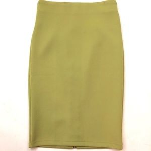 Catherine Malandrino Women's Green Pencil Skirt 2